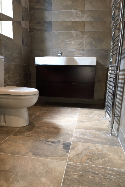 New bathroom installation and tiling in Canterbury